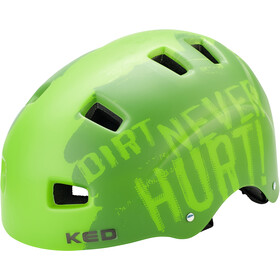 KED 5Forty Helmet Kinder dirt green